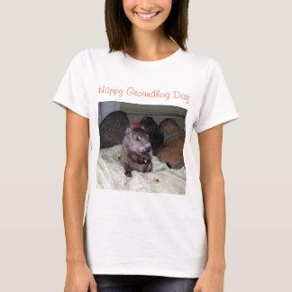 Lycklig Groundhog dag T Shirts