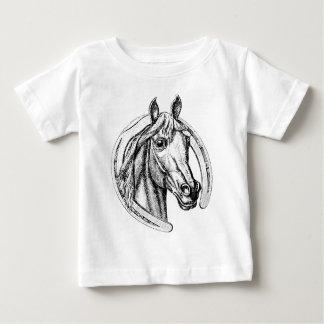 Lycklig häst t-shirt