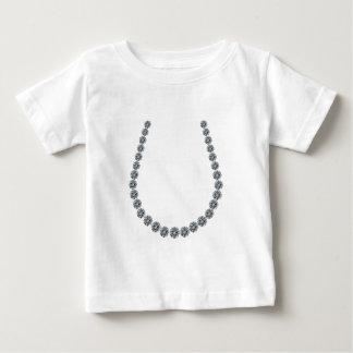 Lycklig hästsko t-shirts