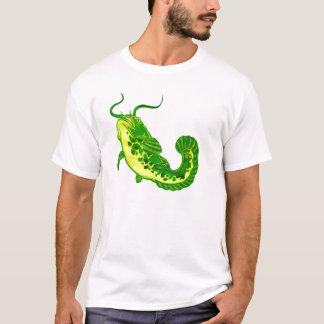 Lycklig havskatt tee shirt