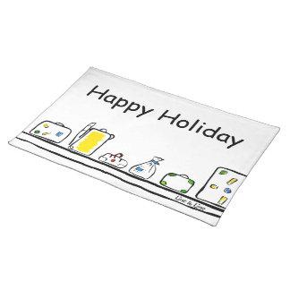 lycklig helgdag bordstablett