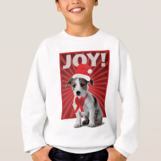 Lycklig helgdaghund - jack Russell Tshirts