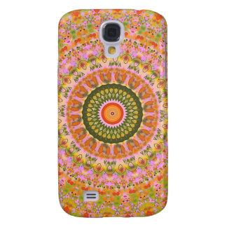 Lycklig Hippy Mandala Galaxy S4 Fodral