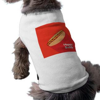 Lycklig Hotdogkompis Husdjurströja