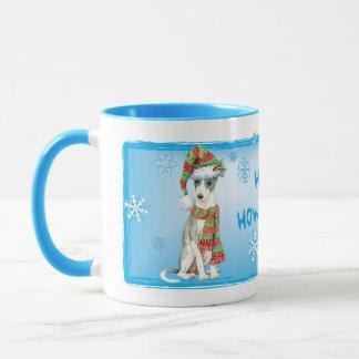 Lycklig Howlidays italienarevinthund Mugg