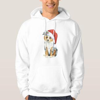 Lycklig Howlidays mini- amerikanherde Sweatshirt