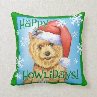 Lycklig Howlidays Norwich Terrier Kudde