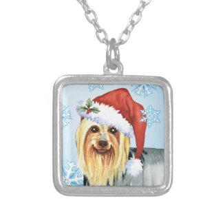 Lycklig Howlidays silkeslen Terrier Silverpläterat Halsband