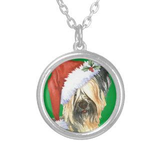 Lycklig Howlidays Skye Terrier Silverpläterat Halsband