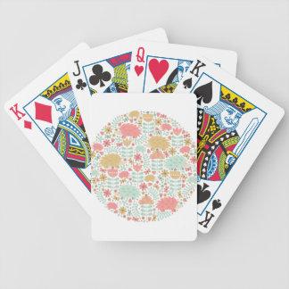 Lycklig igelkott spelkort