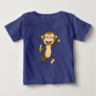 Lycklig Jersey för apababybra T-tröja Tee Shirt