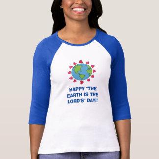 """Lycklig """"jorden är lord'sens"""" utslagsplatsen för tröjor"""