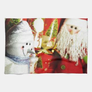 Lycklig jul kökshandduk