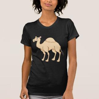 Lycklig kameltecknad tshirts
