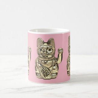 Lycklig katt, Maneki-neko Kaffemugg