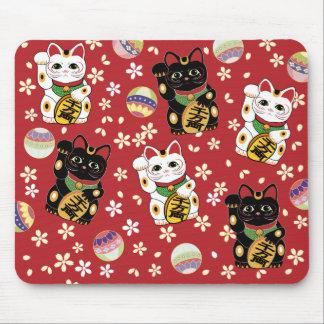 Lycklig katt Mousepad Musmatta