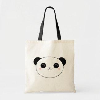 Lycklig Kawaii Pandabjörn Tygkasse