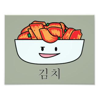 Lycklig Kimchi Kimchee bunke - lyckliga Fototryck