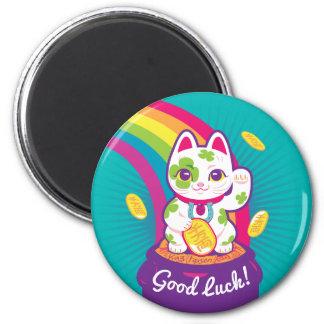 Lycklig kruka för kattManeki Neko lycka till av Magnet