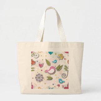 Lycklig love birds tote bags