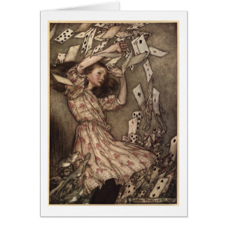 Lycklig mors dag Alice i underlandkort OBS Kort