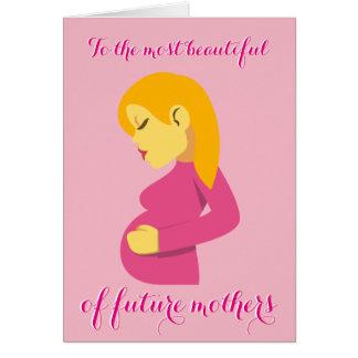 Lycklig mors dag hälsningskort