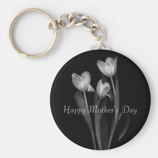 """""""Lycklig mors dag"""" Keychain Rund Nyckelring"""