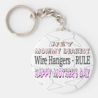 Lycklig mors dag rund nyckelring