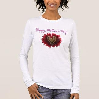Lycklig mors dagblomma tröjor