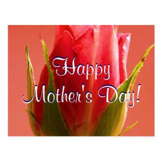 Lycklig mors dagrosa ros mig vykort