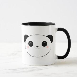 Lycklig mugg för Kawaii Pandabjörn