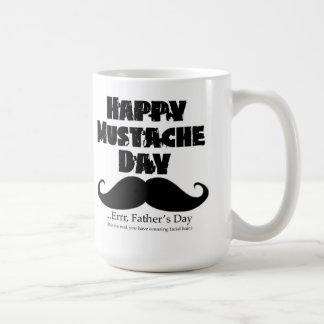 Lycklig mustaschdag! … Errr, fars dag Kaffe Koppar