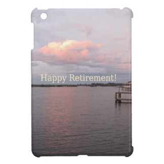 Lycklig pension - cederträ nyckel- Florida iPad Mini Mobil Skal