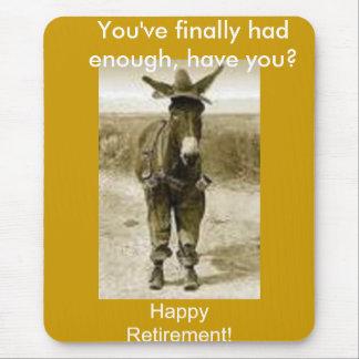 Lycklig pension musmatta