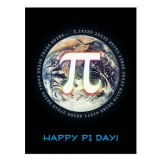 Lycklig Pi-dag | firar Vykort