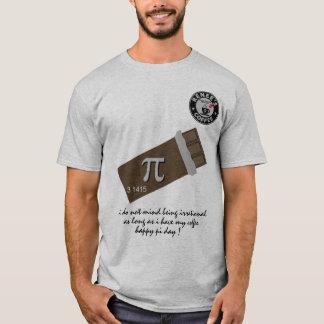 Lycklig Pi-dag - skjorta 1175 för Renees Tee Shirt
