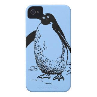 Lycklig pingvin iPhone 4 hud