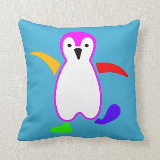 Lycklig pingvin kudde