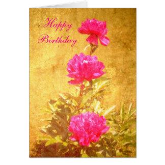 Lycklig pion för Födelsedag Hälsningskort