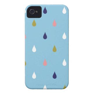 Lycklig regnar tappar Case-Mate iPhone 4 fodral
