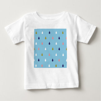 Lycklig regnar tappar t-shirts