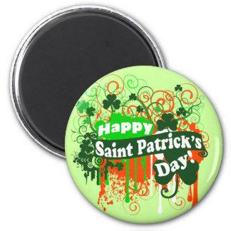 Lycklig saint patrickdag magnet