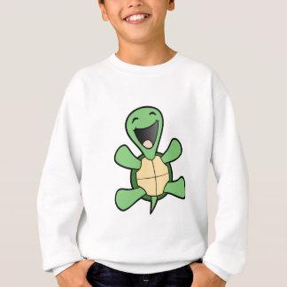 Lycklig sköldpadda t-shirt