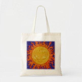 Lycklig sol tygkasse
