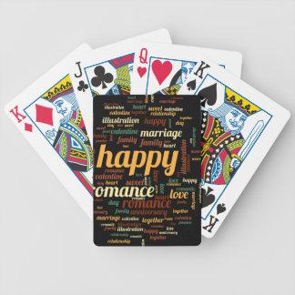 Lycklig Spelkort