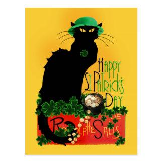 Lycklig st patrick's day - Le Prata Noir Vykort
