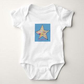 Lycklig stjärna t shirts