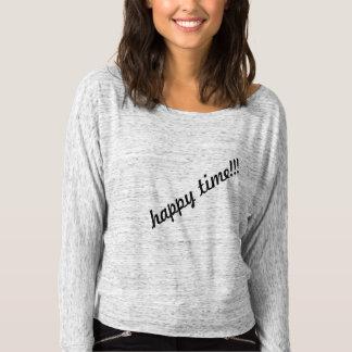lycklig:) t shirts