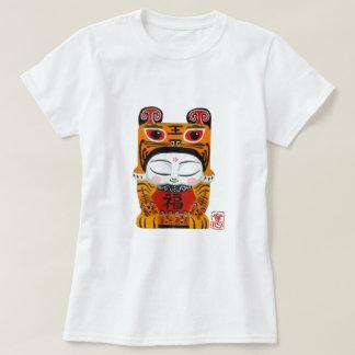 Lycklig tigerbaby tee shirt