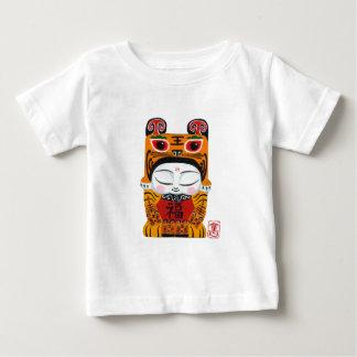 Lycklig tigerbaby tröjor